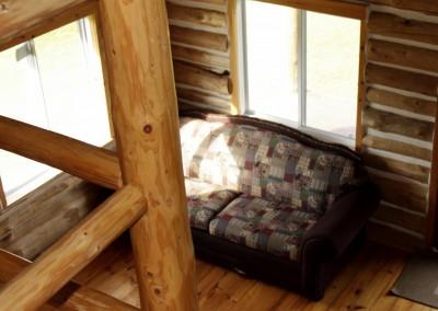 Cabin 5 - Loft View