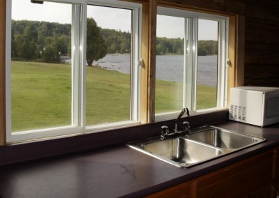 Cabin 7 - Kitchen View