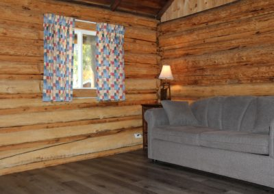 Cabin 8 - Living Room